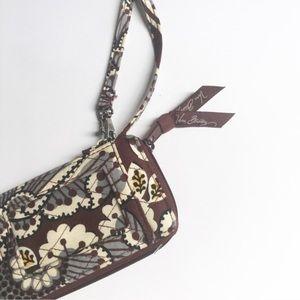 Vera Bradley small brown wallet.